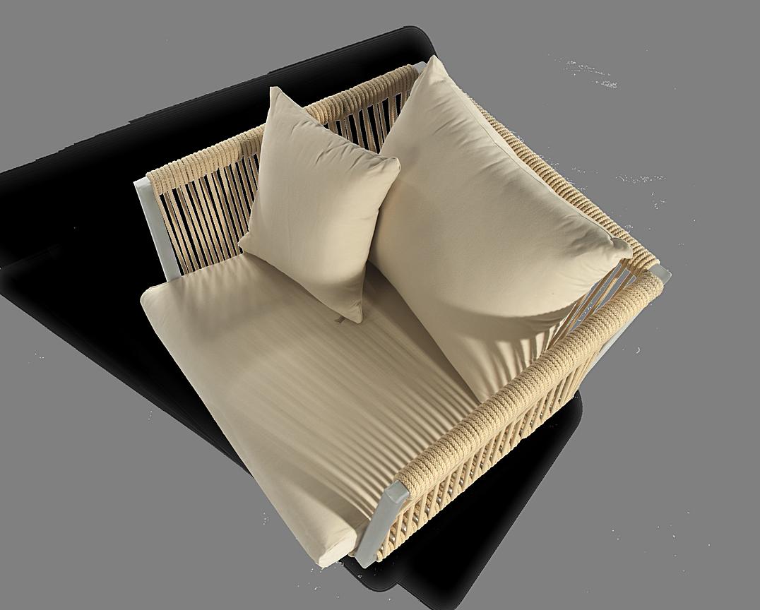 Altesano Air fotelja od konopa - namjestaj od konopa za terase - HOTELE