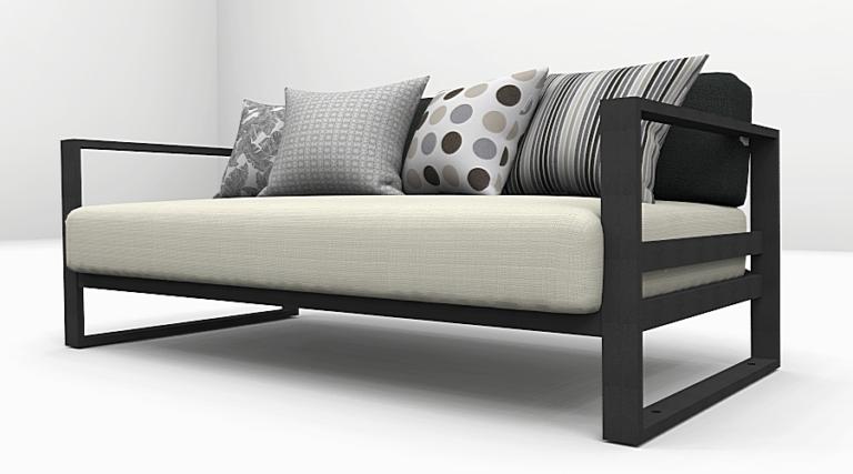 Altesano sofa Connect - Prekrasna sofa iz Connect kolekcije, idealno rjesenje kod opremanja hotela