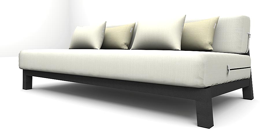 Altesano sofa Edge - vrtni hotelski namjestaj iz lounge kolekcije