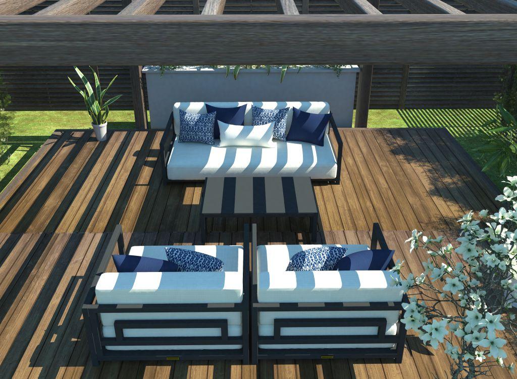 Altesano Resort garnitura - vrtni namjestaj za hotele - sjedeca garnitura za terase ugostiteljskih objekata. idealno za velike elegantne prostore
