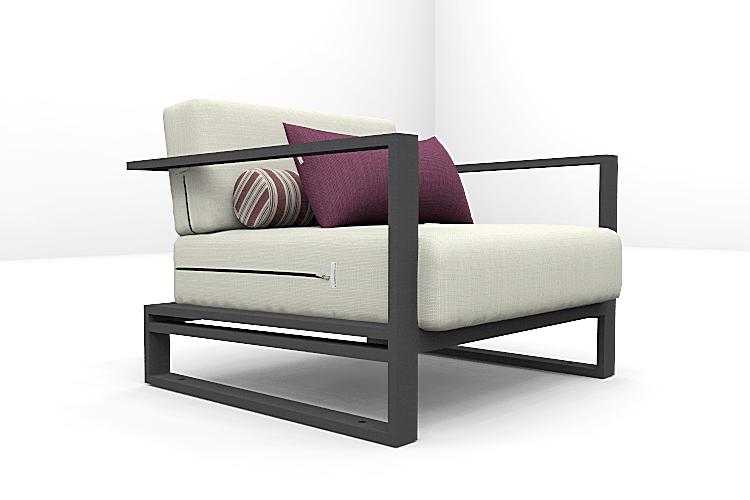 Altesano fotelja za hotele Zip- namještaj za terase