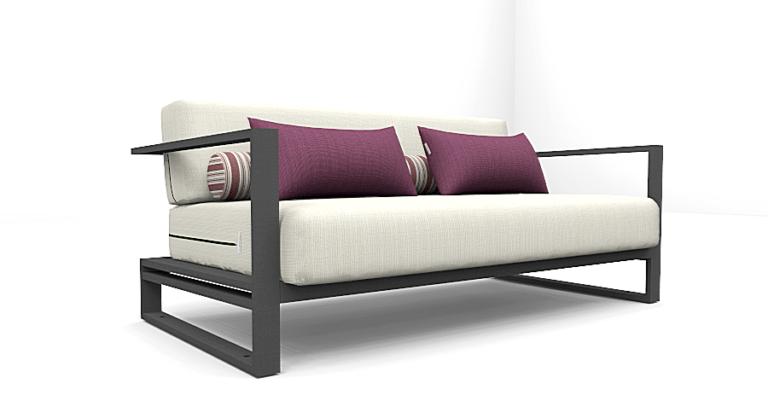 Altesano sofa Zip - vrtni namjestaj iz lounge kolekcije