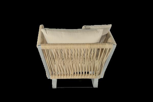 Altesnao Air fotelja - Dio kolekcije Altesano vrtnog namjestaja za hotele od konopa
