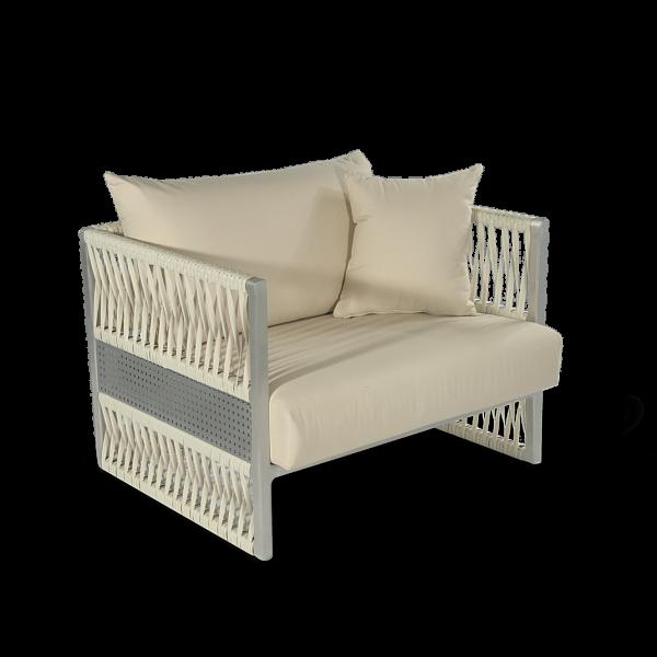 Altesano Cube fotelja od konopa - namjestaj za terase - HOTELE