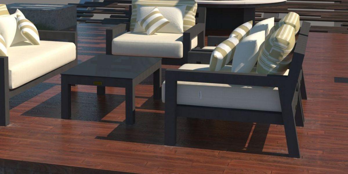 Altesano Bold vrtna garnitura - Ekskluzivni vanjski namještaj za hotele, sjedeće garniture prema Vašim željama