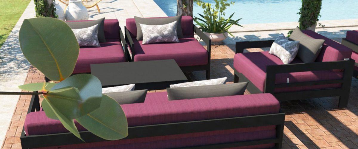 Altesano Luxe garnitura - vrtni namještaj za terase - HOTELE