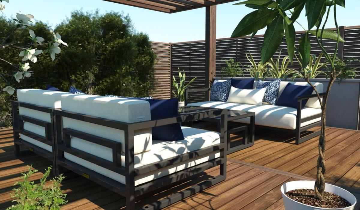 Altesano Resort garnitura - vrtni namještaj za hotele i ugostiteljstvo. Za oaze na Vašim terasama.